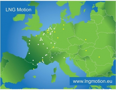 LNG Motion project Axègaz to be awarded with a € 27.8 million grant